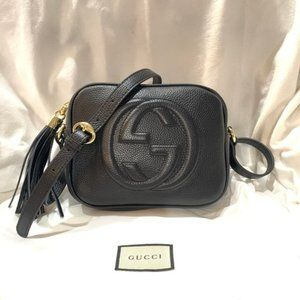 New💝G G💝 Soho Small Leather Disco Shoulder Bag